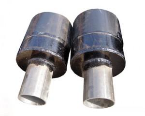 Труба ППУ с заглушкой изоляции и кабелем вывода